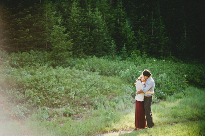 big cottonwood canyon engagements