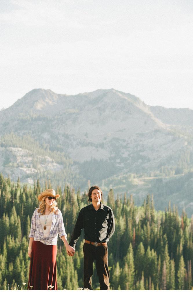 big cottonwood canyon engagements