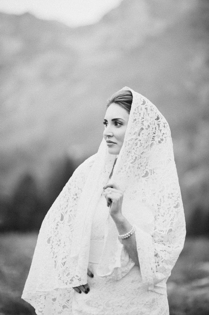 little cottonwood wedding bridals alta