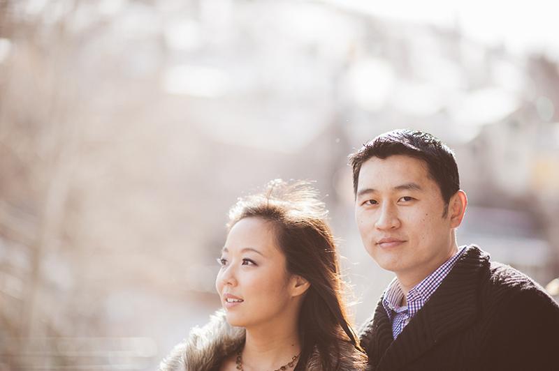 Park City wedding photography engagements