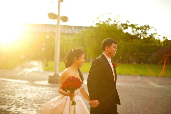 boston wedding marriot longwharf asian
