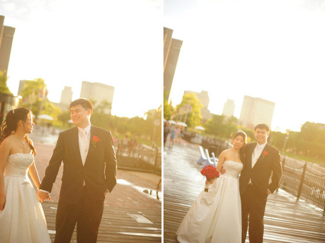 boston wedding marriot longwharf asian