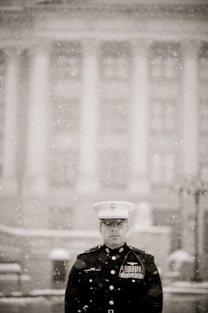 wedding groom marine military married