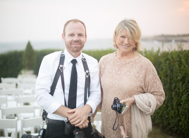 martha stewart weddings newport