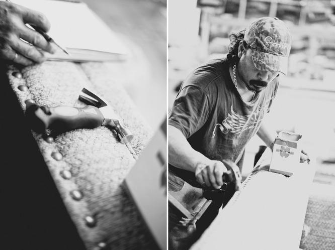 men work blue collar photography